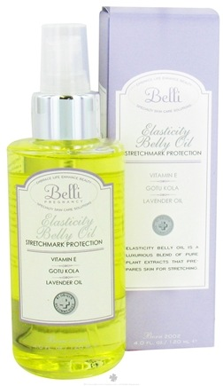DROPPED: Belli - Elasticity Belly Oil - 4 oz. CLEARANCE PRICED