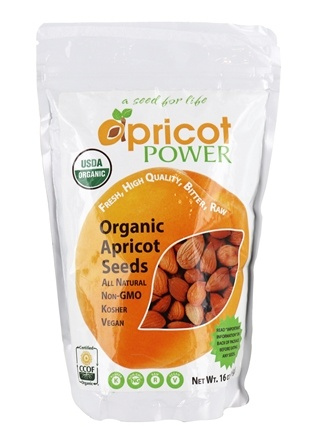 Apricot Power - Bitter Raw Apricot Seeds - 1 lb.
