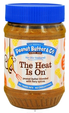 Zoom View - The Heat Is On Peanut Butter Blended with Fiery Spices