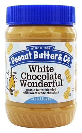 Peanut Butter & Co. - White Chocolate Wonderful Peanut Butter Blended with Sweet White Chocolate - 16 oz.
