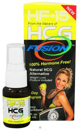 DROPPED: Fusion Diet Systems - HCG Fusion HF-15 Diet Supplement Spray - 0.7 oz.
