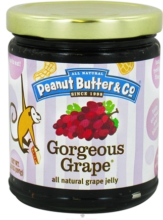 DROPPED: Peanut Butter & Co. - Gorgeous Grape All Natural Grape Jelly - 10.5 oz. CLEARANCE PRICED