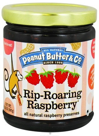 DROPPED: Peanut Butter & Co. - Rip-Roaring Raspberry All Natural Raspberry Preserves - 10.5 oz.