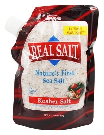 Zoom View - Nature's First Sea Salt Kosher Salt