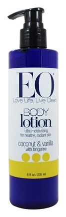 EO Products - Body Lotion Ultra Moisturizing Coconut & Vanilla with Tangerine - 8 fl. oz.