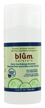 DROPPED: Blum Naturals - Daily Eye Makeup Remover - 5.41 oz.