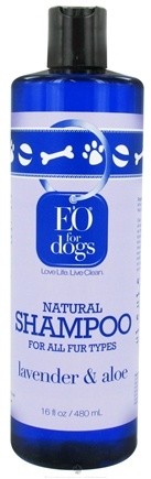 DROPPED: EO Products - Natural Dog Shampoo Lavender & Aloe - 16 oz.