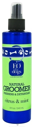 DROPPED: EO Products - Natural Dog Groomer Citrus & Mint - 8 oz. CLEARANCE PRICED