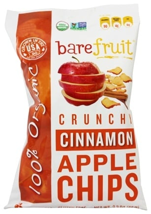 Zoom View - 100% Organic Bake-Dried Cinammon Apple Chips