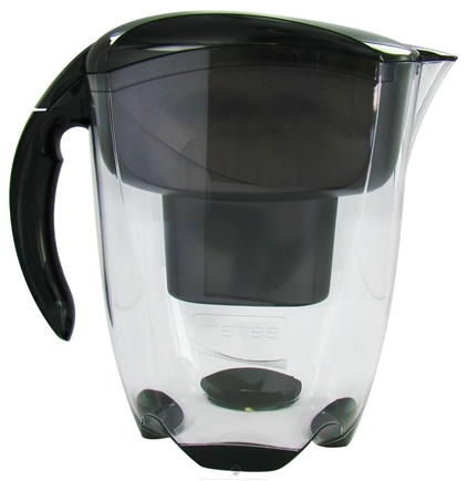 DROPPED: Mavea - Elemaris XL Water Filtration Pitcher 1001125 9-Cup Black - 3.5 Liter(s) CLEARANCE PRICED