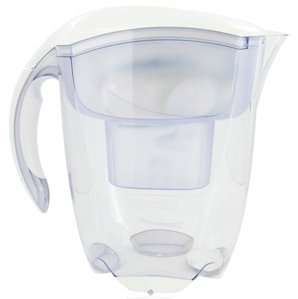DROPPED: Mavea - Elemaris XL Water Filtration Pitcher 1001126 9-Cup White - 3.5 Liter(s) CLEARANCE PRICED
