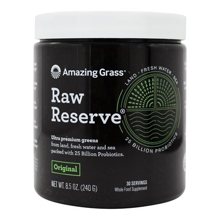 Amazing Grass - Green SuperFood Raw Reserve 30 Servings - 8.5 oz.
