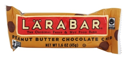 Larabar - Original Fruit & Nut Bar Peanut Butter Chocolate Chip - 1.6 oz.