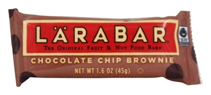 Larabar - Original Fruit & Nut Bar Chocolate Chip Brownie - 1.6 oz.