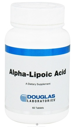 DROPPED: Douglas Laboratories - Alpha-Lipoic Acid - 60 Tablets