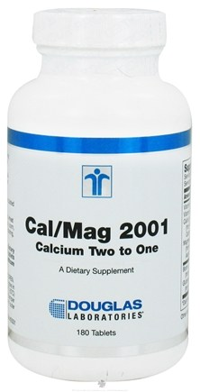 DROPPED: Douglas Laboratories - Cal/Mag 2001 - 180 Tablets CLEARANCE PRICED