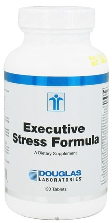 DROPPED: Douglas Laboratories - Executive Stress Formula - 120 Tablets CLEARANCE PRICED