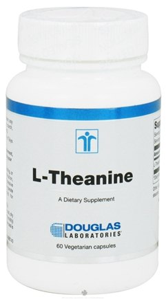 DROPPED: Douglas Laboratories - L-Theanine - 60 Vegetarian Capsules CLEARANCE PRICED