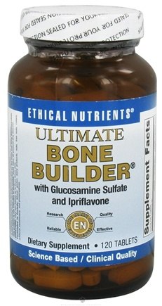 DROPPED: Ethical Nutrients - Ultimate Bone Builder - 120 Tablets CLEARANCE PRICED