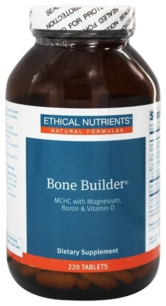 DROPPED: Ethical Nutrients - Bone Builder MCHC With Magnesium Boron & Vitamin D - 220 Tablets
