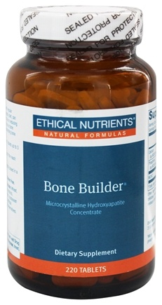 DROPPED: Ethical Nutrients - Bone Builder Microcrystalline Hydroxyapatite Concentrate - 220 Tablets
