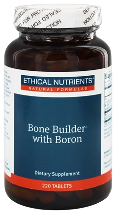 DROPPED: Ethical Nutrients - Bone Builder With Boron - 220 Tablets