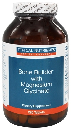 DROPPED: Ethical Nutrients - Bone Builder Magnesium Glycinate - 220 Tablets