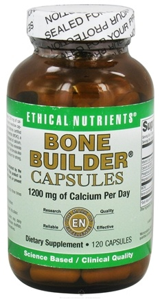 DROPPED: Ethical Nutrients - Bone Builder Capsules - 120 Capsules CLEARANCE PRICED