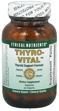 DROPPED: Ethical Nutrients - Thyro-Vital - 60 Tablets CLEARANCE PRICED