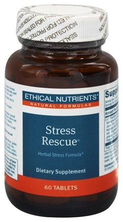 DROPPED: Ethical Nutrients - Stress Rescue - 60 Tablets
