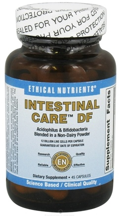 DROPPED: Ethical Nutrients - Intestinal Care DF - 45 Capsules CLEARANCE PRICED