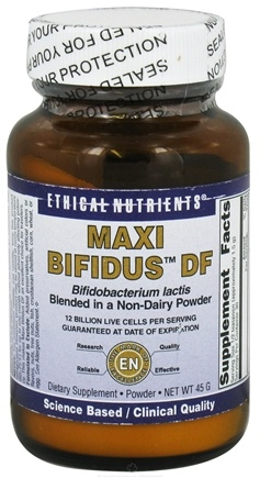 DROPPED: Ethical Nutrients - Maxi Bifidus DF - 45 Grams CLEARANCE PRICED