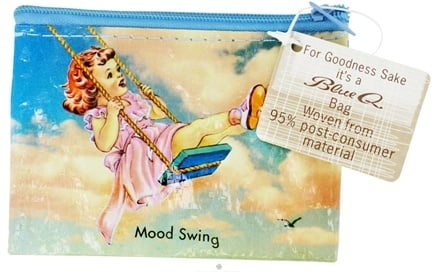 DROPPED: Blue Q - Mood Swing Coin Purse - CLEARANCE PRICED