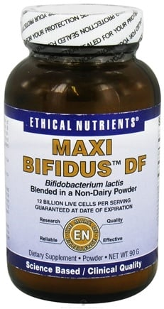 DROPPED: Ethical Nutrients - Maxi Bifidus DF - 90 Grams CLEARANCE PRICED