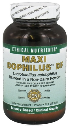 DROPPED: Ethical Nutrients - Maxi Dophilus DF - 90 Grams