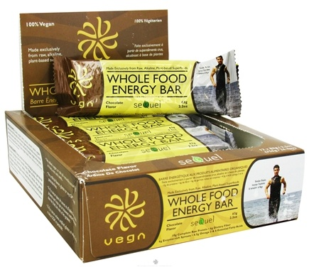 DROPPED: Vega - Whole Food Energy Bar Chocolate - 2.2 oz.