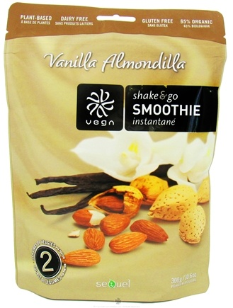 DROPPED: Vega - Shake & Go Smoothie Vanilla Almondilla - 10.6 oz.