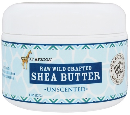 Out Of Africa - Shea Butter Raw, Wild Crafted Unscented - 8 oz.