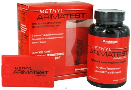 DROPPED: MuscleMeds - Methyl Arimatest Formula 1 - 120 Capsules & Formula 2 - 60 SubZorb Tablets - CLEARANCE PRICED