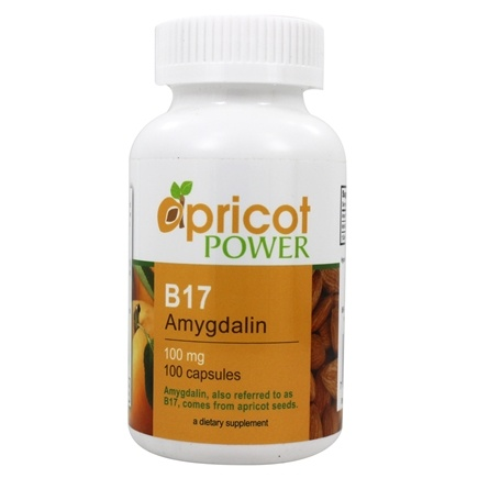Apricot Power - Amygdalin B-17 100 mg. - 100 Capsules