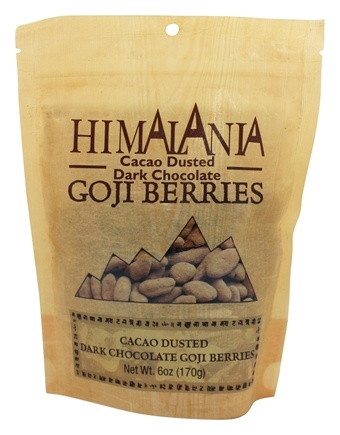 DROPPED: Himalania - Cacao Dusted Dark Chocolate Goji Berries - 6 oz.