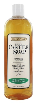 DROPPED: Shadow Lake - Pure Castile Soap Eucalyptus Spearmint - 16 oz.
