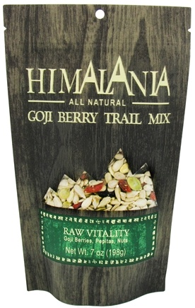 DROPPED: Himalania - All Natural Goji Berry Trail Mix Raw Vitality - 7 oz. CLEARANCE PRICED