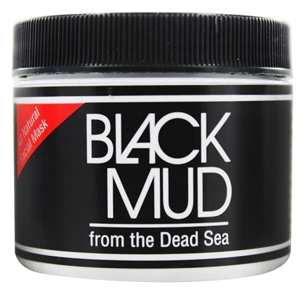 Zoom View - Black Mud All Natural Facial Mask from the Dead Sea