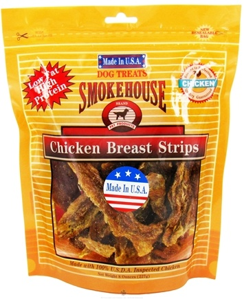 Zoom View - Chicken Breast Strips Dog Treats