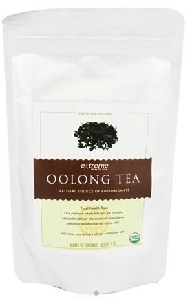 DROPPED: Extreme Health USA - Organic Loose Leaf Oolong Tea - 4 oz. CLEARANCE PRICED