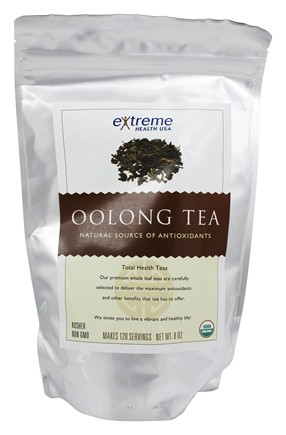 Zoom View - Organic Loose Leaf Oolong Tea
