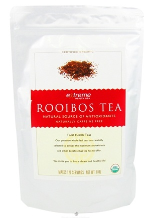 DROPPED: Extreme Health USA - Organic Loose Leaf Rooibos Tea - 8 oz. CLEARANCE PRICED
