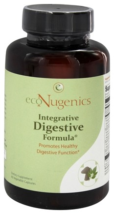 DROPPED: EcoNugenics - Integrative Digestive Formula - 60 Vegetarian Capsules