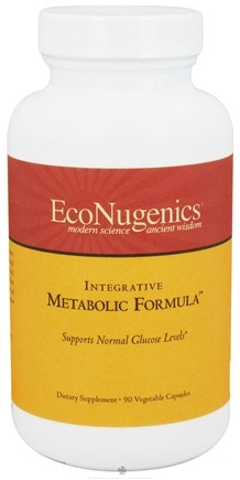 DROPPED: EcoNugenics - Integrative Metabolic Formula - 90 Vegetarian Capsules CLEARANCE PRICED